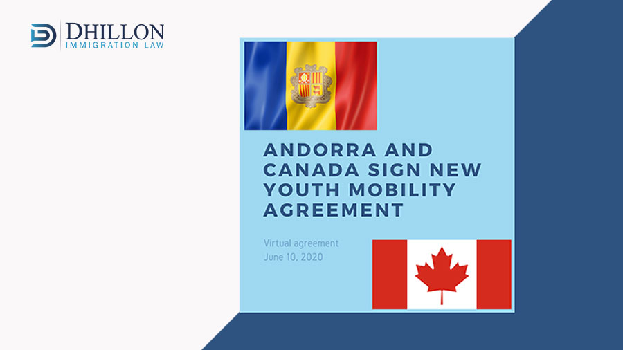 ANDORRA AND CANADA SIGN NEW YOUTH MOBILTY AGREEMENT