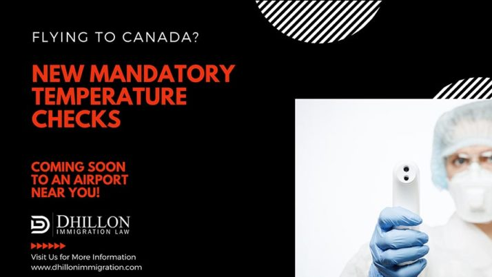 Learn More about New Canadian Entry Requirements – Mandatory Temperature Checks