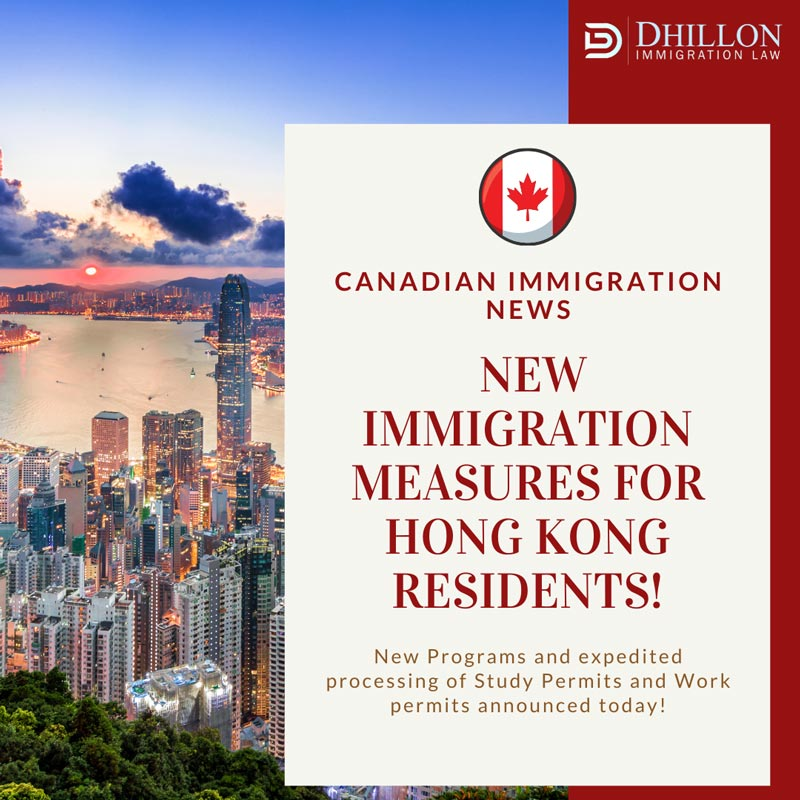Canada Expands Options for Hong Kong Residents